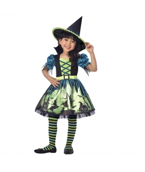 Costum Halloween fete Vrajitoare Hocus Pocus