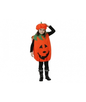 Costum Halloween copii Dovlecel cu palarie