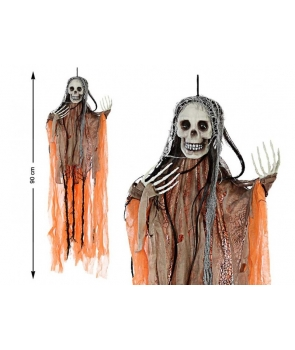 Decor Halloween schelet 90cm