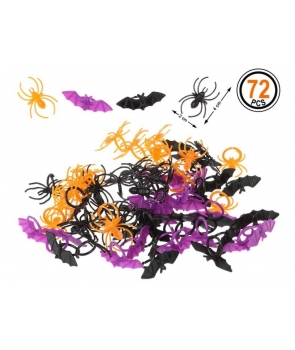 Set paianjeni colorati decor Halloween