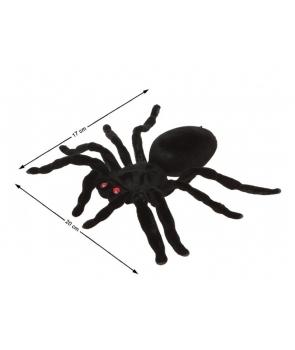 Decor Halloween paianjen negru