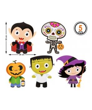 Decor Halloween 5 piese