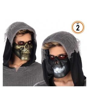 Masca Halloween schelet 2 modele