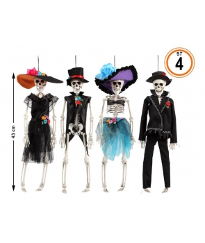 Decor Halloween schelet 4 modele