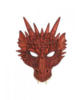 Masca dragon rosu