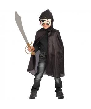 Set Halloween copii Pirat cu masca