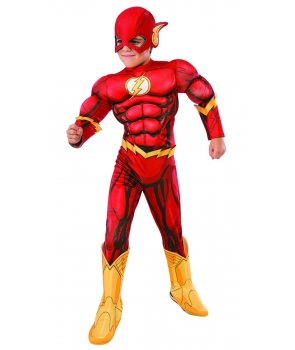 Costum carnaval baieti Flash nou