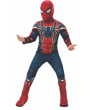 Costum carnaval baieti Spiderman Infinity War