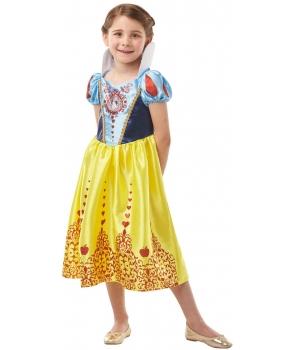 Costum carnaval fete Alba ca Zapada cu licenta Disney
