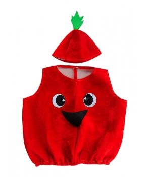 Costum serbare copii Tomata, Rosie