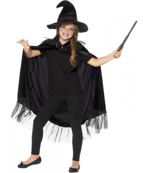 Set Halloween vrajitoare cu sclipici