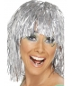 Peruca Disco argintie