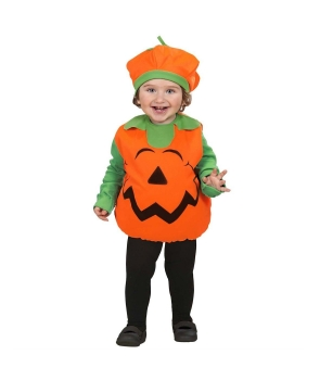 Costum Halloween copii Dovlecel portocaliu