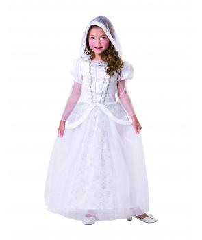 Costum Craciun fete Craiasa Zapezii cu gluga