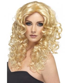Peruca petrecere glamour blonda