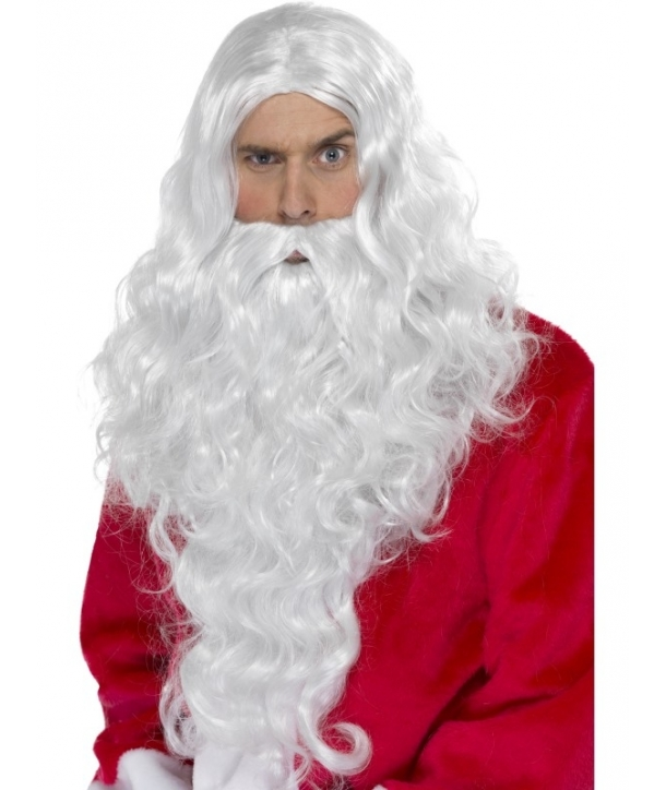 Set barba si peruca Mos Craciun