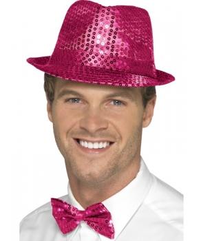 Palarie cu paiete roz unisex