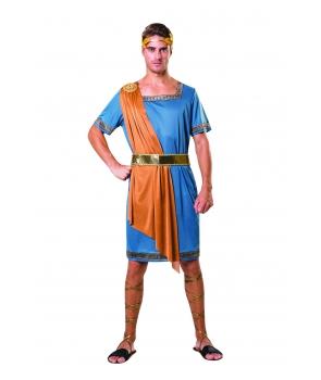 Costum carnaval barbati Imparat Roman cu albastru