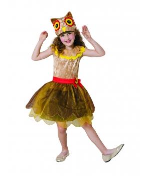 Costum carnaval fete Pasare Bufnita