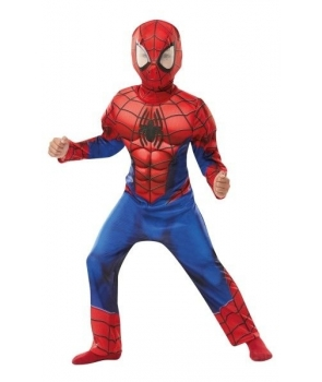 Costum carnaval baieti Spiderman