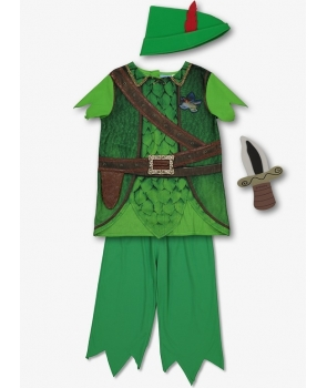 Costum carnaval baieti Peter Pan Disney
