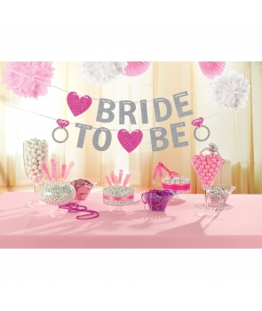 Banner litere Bride to be