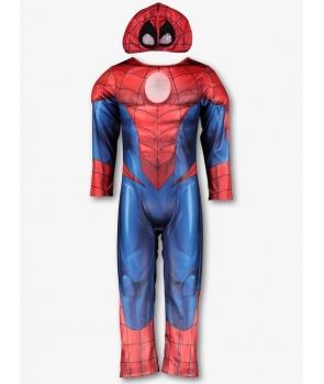 Costum carnaval baieti Spiderman cu lumini
