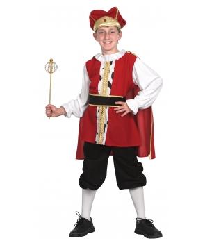Costum carnaval copii rege medieval