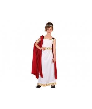 Costum carnaval fete Romana cu pelerina