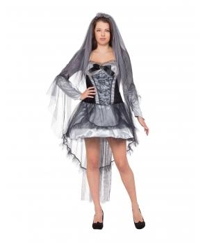 Costum Halloween femei Mireasa Intunericului