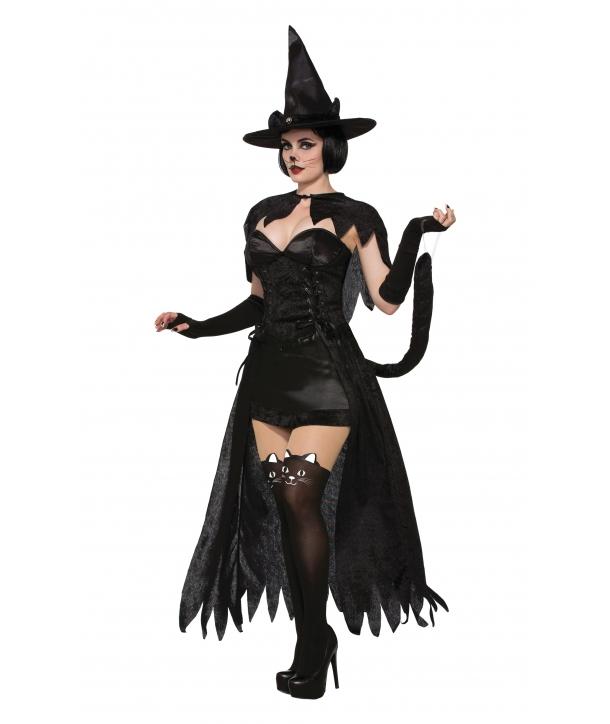Costum Halloween femei Pisica vrajitoare