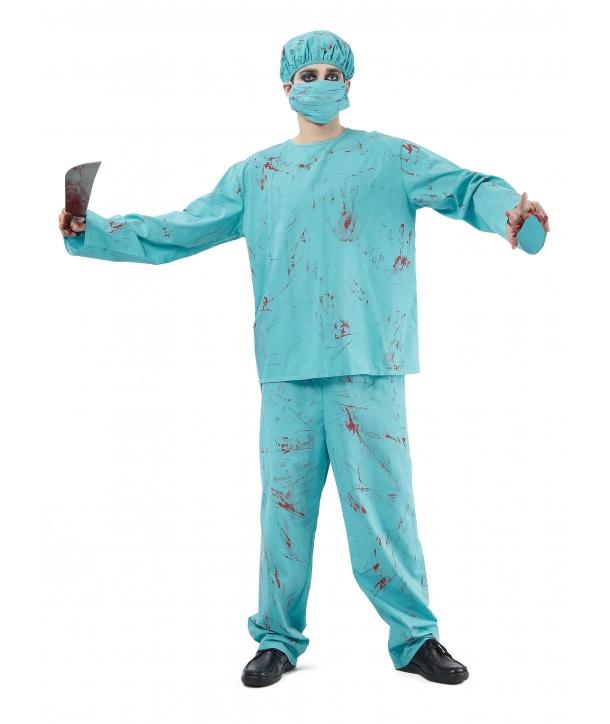 Costum Halloween barbati Chirurg