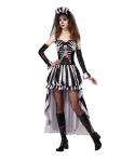 Costum Halloween femei Regina Schelet