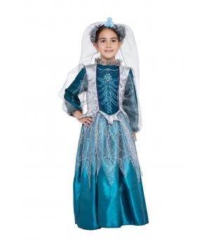 Costum Halloween fete Regina schelet
