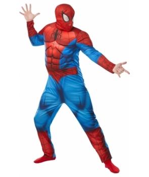 Costum carnaval barbati Spiderman cu muschi