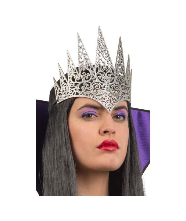 Coroana regina argintie