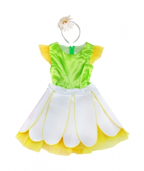 Costum carnaval fete floare
