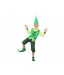 Costum carnaval copii Pitic cu verde