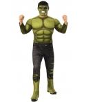 Costum carnaval barbati Hulk cu licenta, de lux