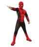 Costum carnaval baieti Spiderman negru cu rosu