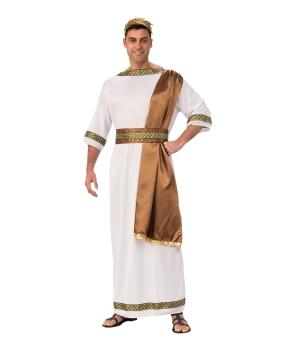 Costum carnaval barbati Imparat Roman cu maro