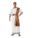 Costum carnaval barbati Zeu grec cu maro
