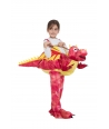 Costum copii Dragon rosu