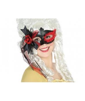 Masca de carnaval cu funda