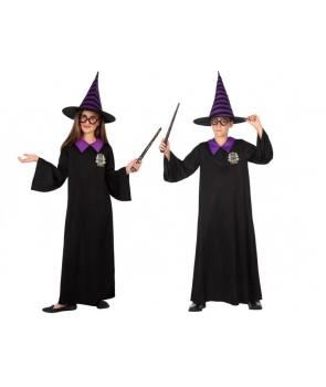 Costum Halloween copii Vrajitor Elev