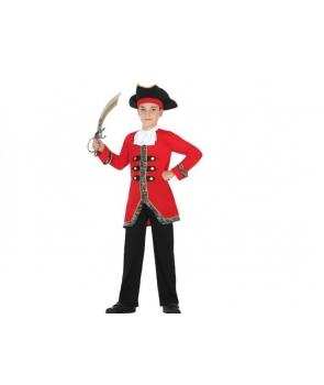 Costum carnaval copii Pirat cu palarie