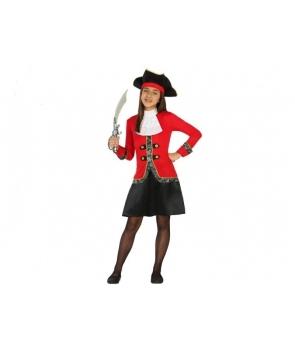 Costum carnaval fete Pirata cu palarie
