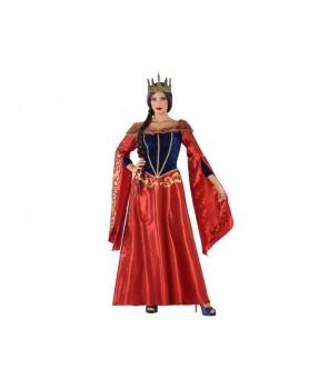 Costum carnaval femei Regina Medievala