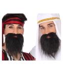Barba si mustata arab, pirat