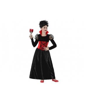 Costum Halloween fete Vampirita cu dantela